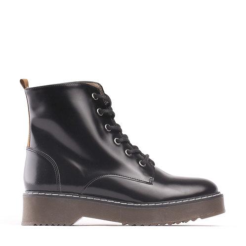 Trina Black Vegan Boots