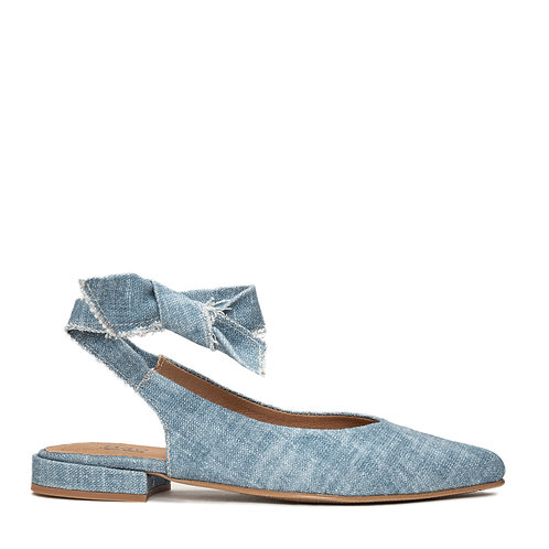 Beth Blue Organic Cotton Shoes