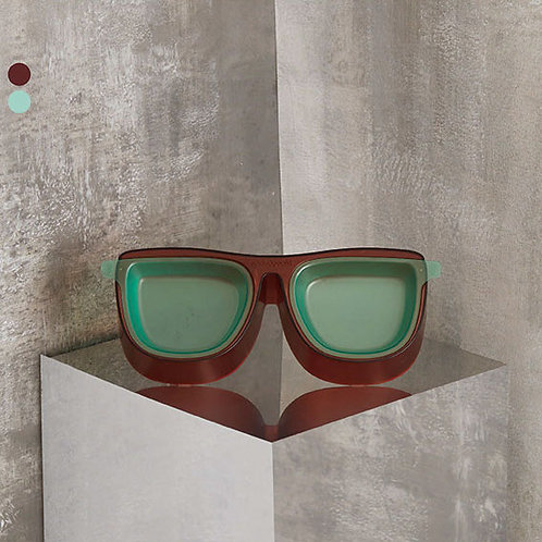 The Binocular Feeder - Chocolate/Mint