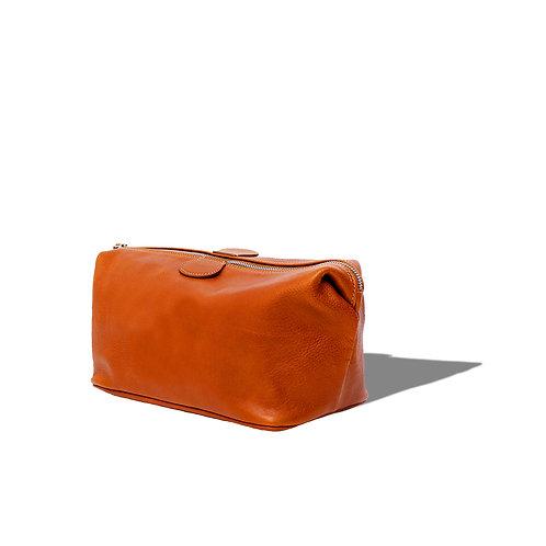 Red-Eye Wash Bag - Cuoio