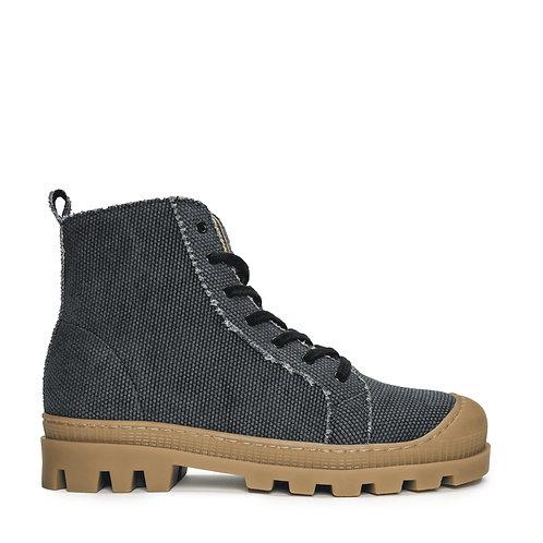 Noah Black Organic Cotton Boots