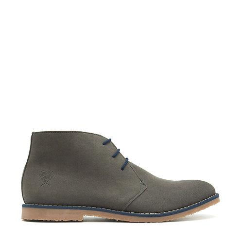 Lagos Grey Vegan Desert Boots