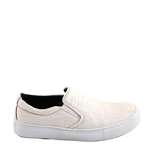 Bare White Piñatex Vegan Shoes