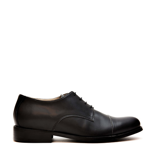 Newbcn Black Vegan Derby Shoes