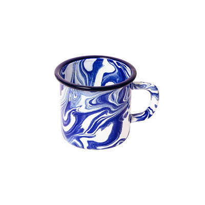 Klein Blue Enamel Mug (Set of 2)