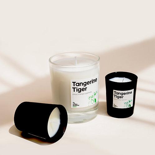 Tangerine Tiger - Home & Travel Candle Set