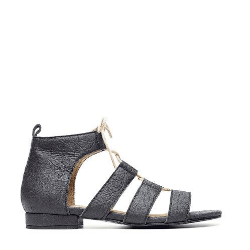 Hera Black Vegan Sandals