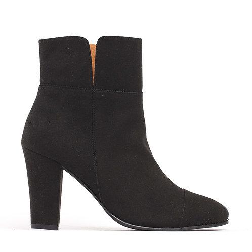 Bline Black Vegan Ankle Boots