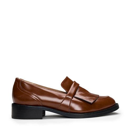 Brina Brown Vegan Loafers