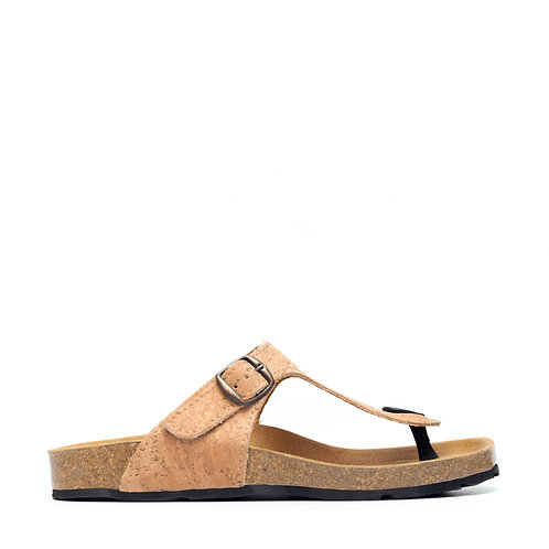 Kos Brown Recycled PET Sandal