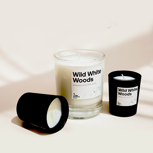 Wild White Woods - Home & Travel Candle Set