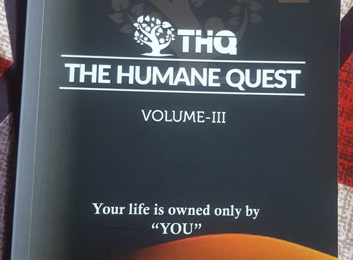 Review of 'The Humane Quest Volume 3', Authored by Mehak Gupta Grover