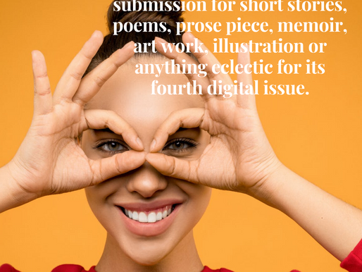 Submissions Now Open for the Fourth Digital Issue