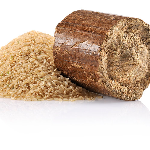 Rice Husk Briquette