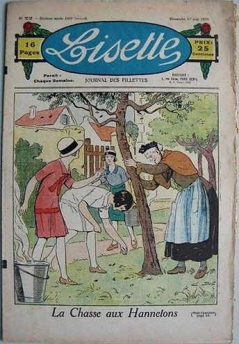 """""""Lisette"""" Journal des fillettes à la chasse aux hannetons"""
