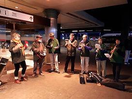 Pour les réfugiés Gare du Nord. 11/11/20