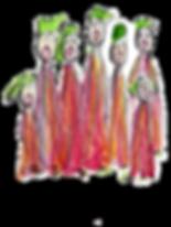 Une chorale polyphonique chantante-Gaëlle de Crombrugghe