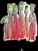 Une chorale chantante-Gaëlle de Crombrugghe