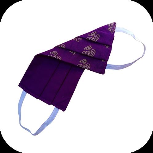 Face Mask - Golden Purple
