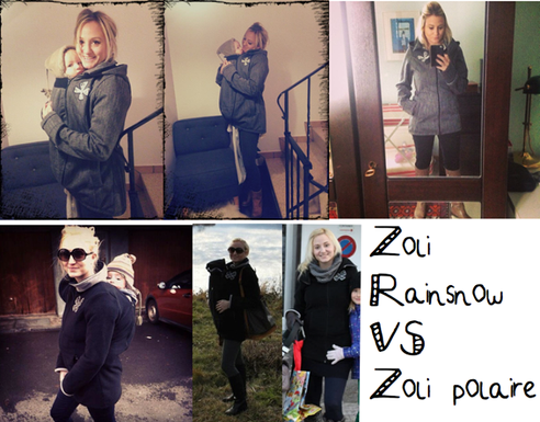 Zoli Rainsnow VS Zoli polaire