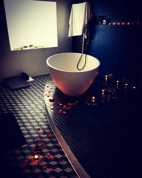 Rituel du bain réparateur