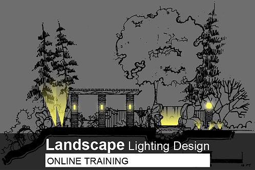 8 days ONLINE Training - Landscape Lighting Design Course