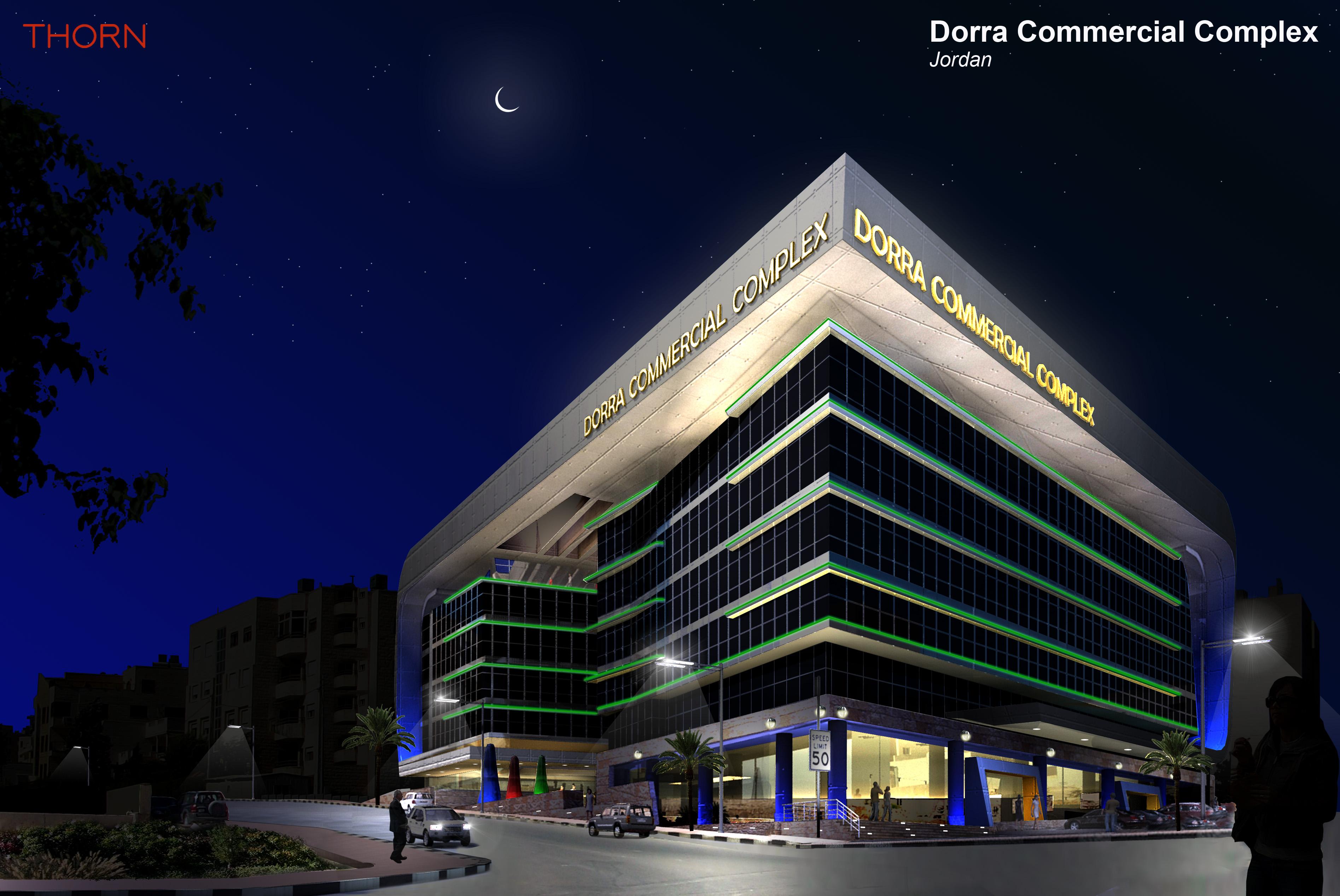 Dorra Complex Facade Lighting