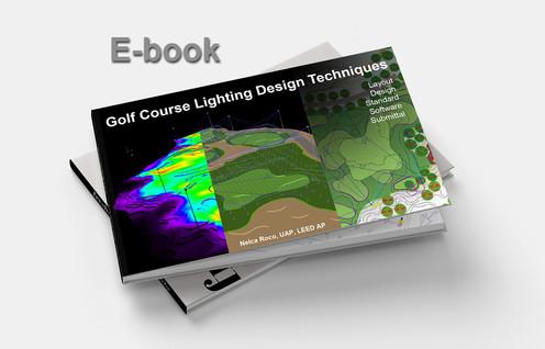 Golf course lighting design techniques e book