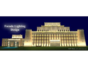 Facade Lighting Design Techniques