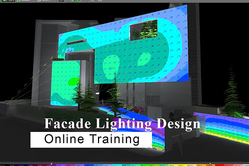 8 days ONLINE Training - Facade Lighting Design Course