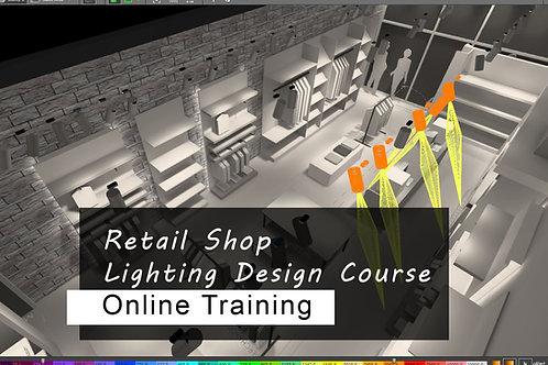 8 days ONLINE Training - Retail Shop Lighting Design Course