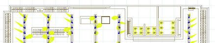 Dialux aiming diagram