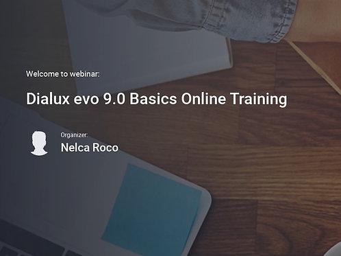 8 days ONLINE Training - Dialux evo 9.1 Basics