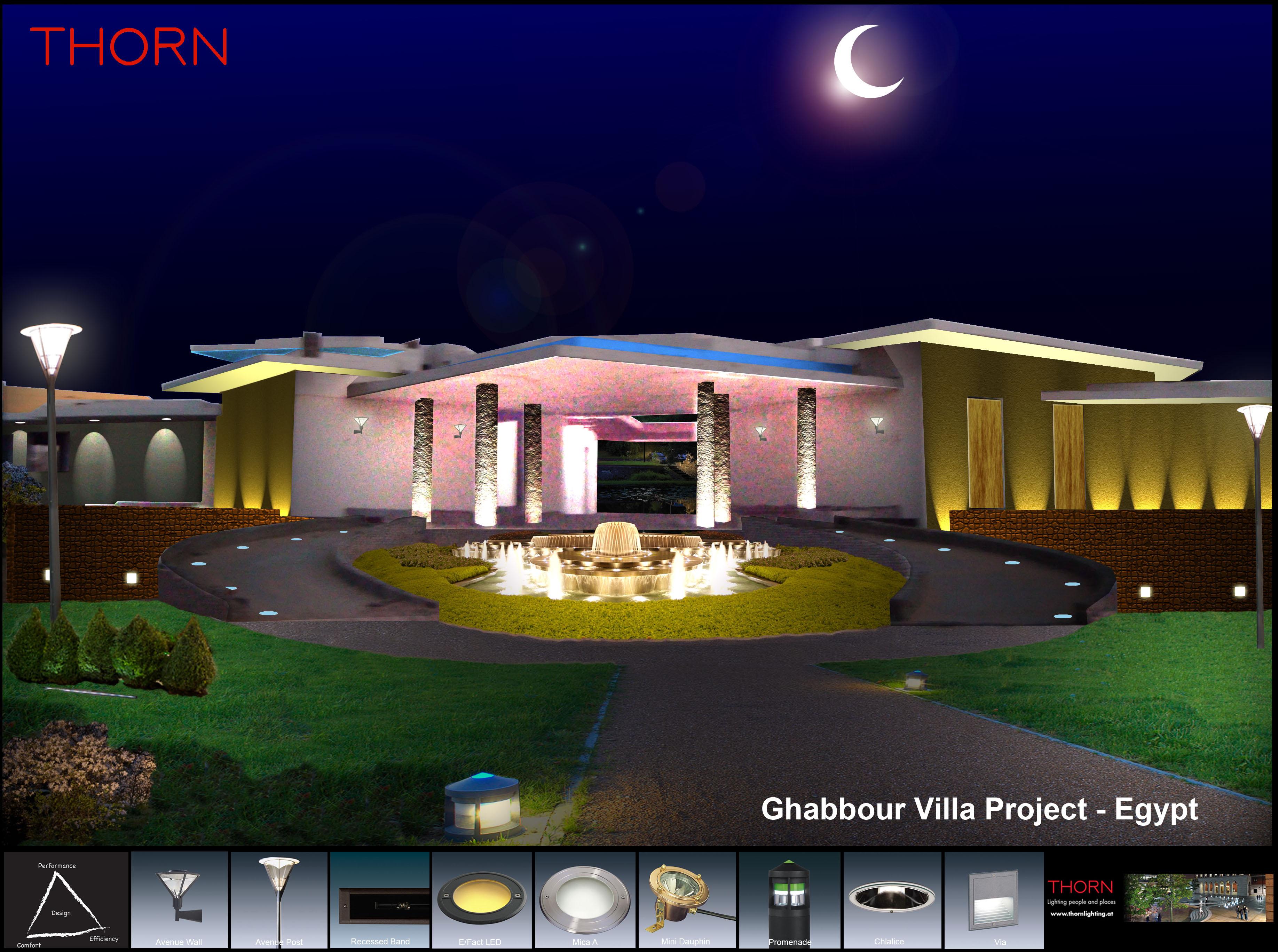 Villa Lighting Design