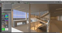 Sample atrium stairs lighting design2