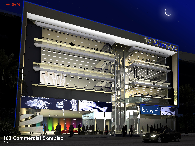 103 Commercial Complex facade Lighting