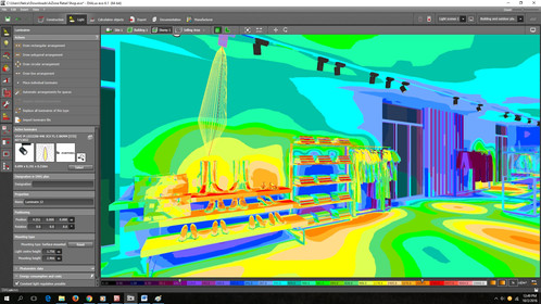 A Free One Full Course On How To Do The Lighting Design Calculations For Retail Shops Using Dialux Evo Software