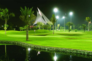 Why is there a need for lighting in Golf Course?