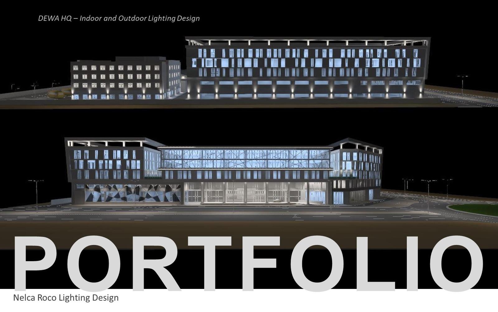 Nroco Lighting Design Techniques Portfolio