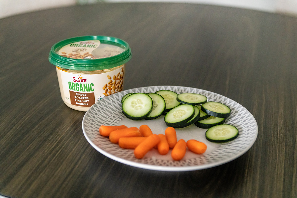 Sabra Organic Hummus & veggies