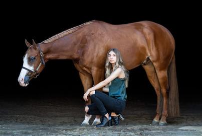 Kaitlyn Ferguson | Wilson Show Horses | Battle Ground, WA | Senior portraits