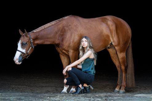 Kaitlyn Ferguson | Wilson Show Horses | Battle Ground, WA | Senior portraits