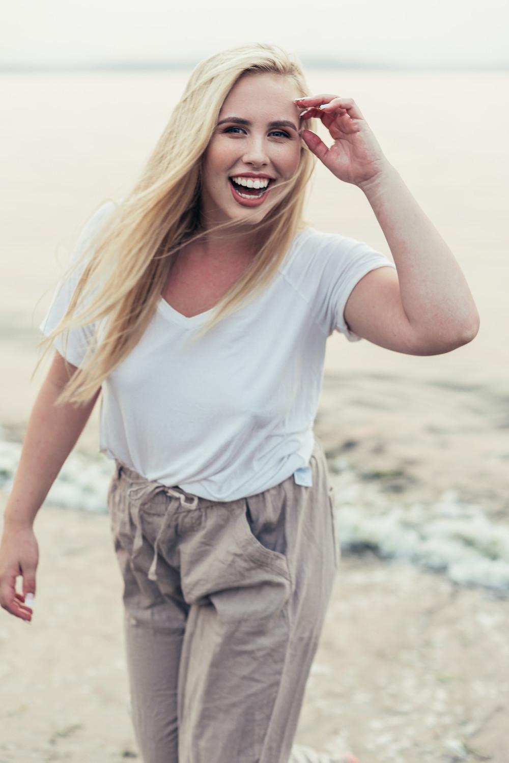 Sarah Coie laughing