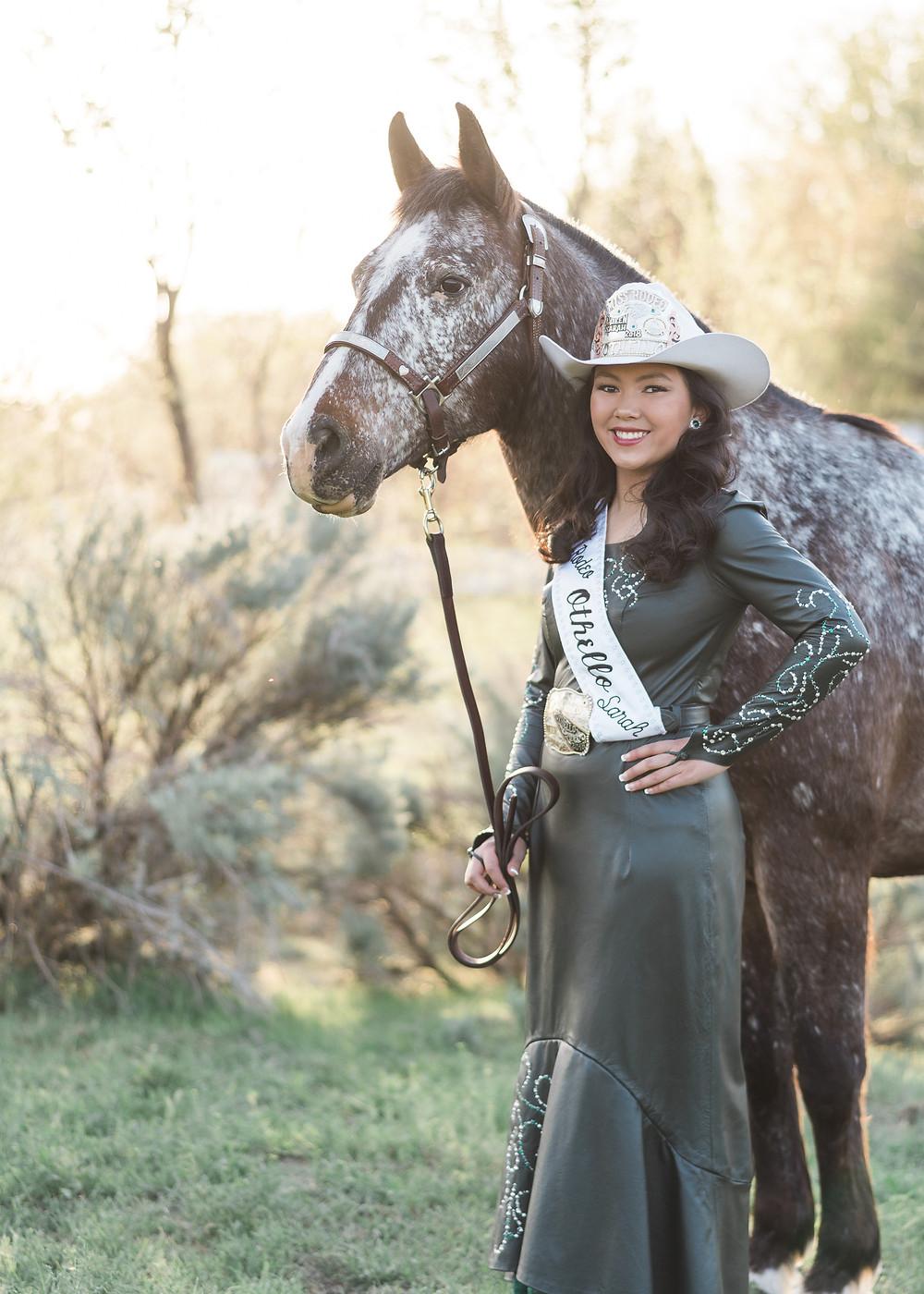 Sarah Wilson 2018 Rodeo Queen