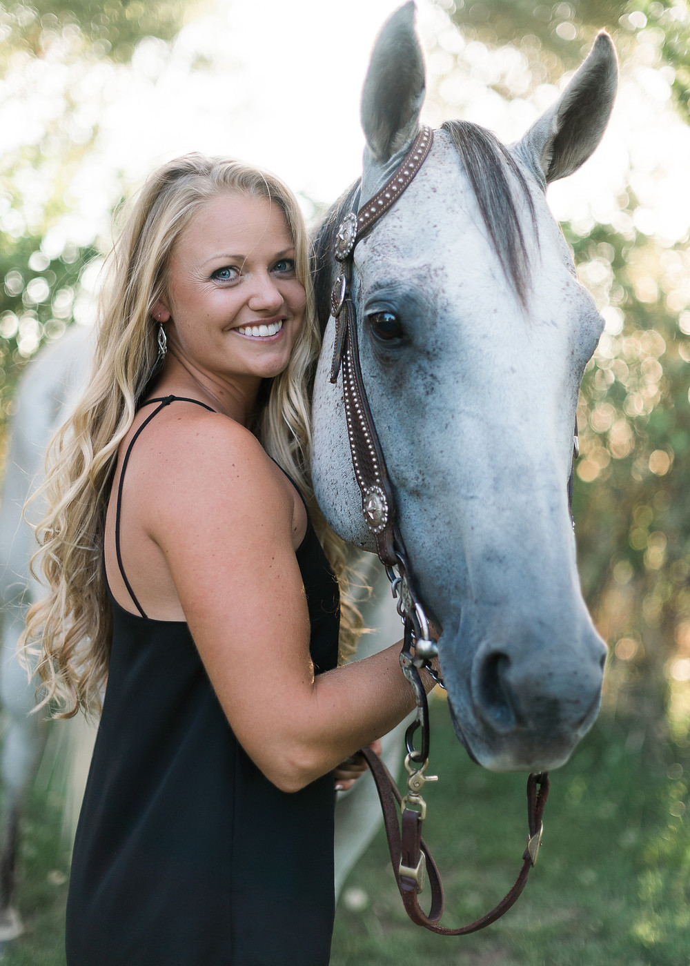 A girl and her horse