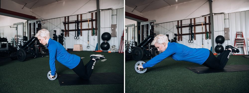 Ab Wheel Roll Out