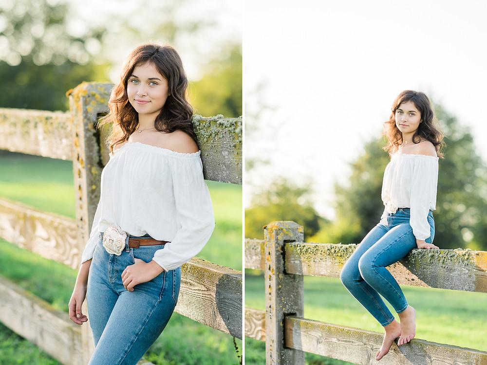 individual shots of Lauren