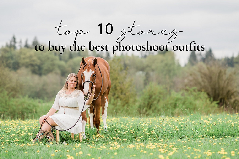 top 10 stores to buy the best photoshoot outfits