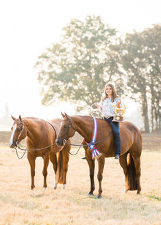 Claira Bingaman | Three Ring Farm | Lebanon, OR | AQHYA World Champion