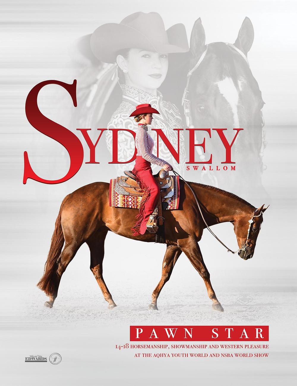 Sydney Swallom | Mike and May Edwards Quarter Horses